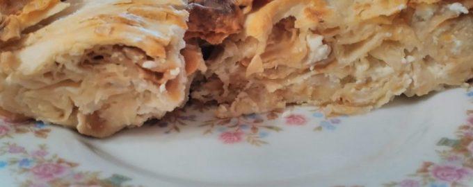 Рецепт «Сербской гибаницы» из тонкого лаваша
