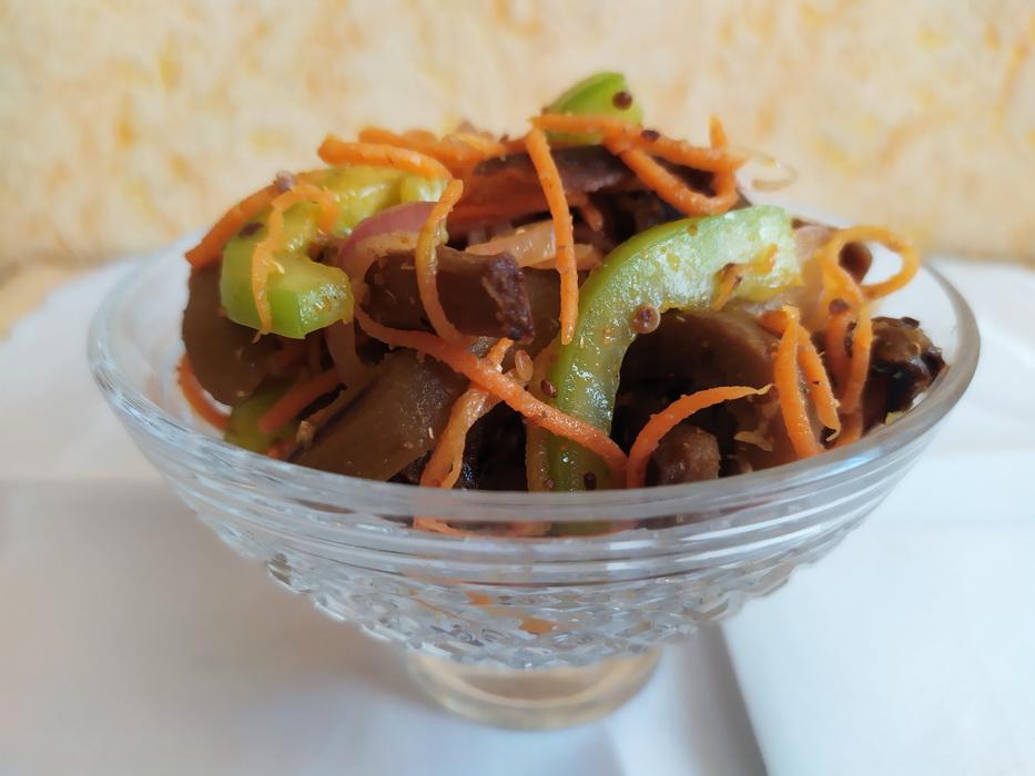 Баклажаны по-корейски (рецепт с огоньком)