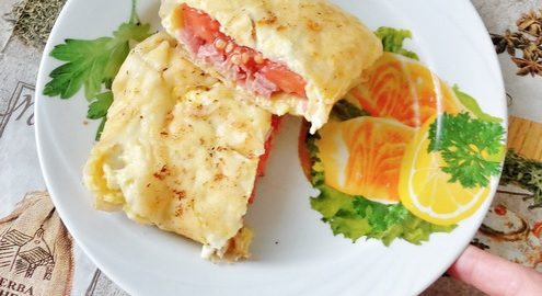 «Лаваш начинкой не испортишь». Ещё один рецепт блюда из лаваша для сбалансированного завтрака