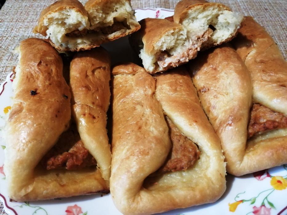 Пористые и воздушные пирожки с мясом, как в Турции. Любимая закуска моего мужа на отдыхе