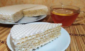 Вафельный торт с мёдом и перцем (главная вкуснятина 90-х)