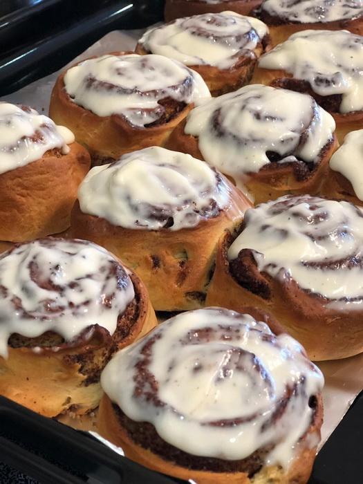 Знаменитые булочки «Синнабон» — не просто модный, а идеальный десерт на любой праздник