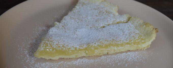 Принимала ЗОЖ-гостей, приготовила «Лимонно-апельсиновый тарт» - без белкового крема и пшеничной муки