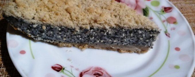 Немецкий пирог маковник – внутри потрясающая нежная маковая начинка