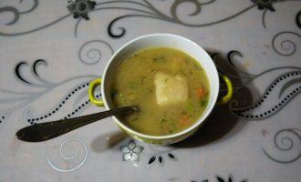 Осенний кабачковый суп