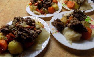 Узбекская «Басма». Мой адаптированный рецепт эконом-вариант