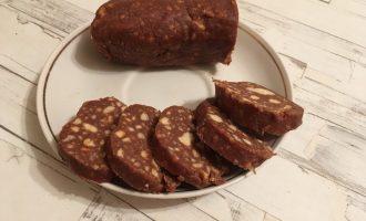 Орехово-шоколадная колбаска