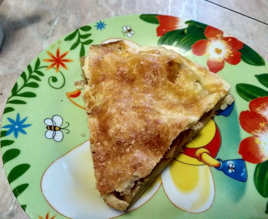 Американский яблочный пирог, как в сериалах: его режешь, он хрустит