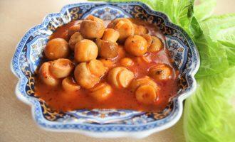 Грибы по-гречески – универсальная закуска для всех и ко всему