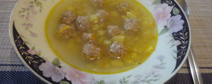 Как я варю суп с фрикадельками. Мой главный секрет – фарш с геркулесом