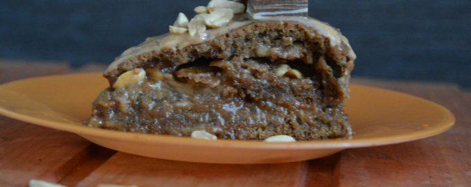 Торт «Сникерс» - шоколад на шоколаде с солёным арахисом – слишком вкусный