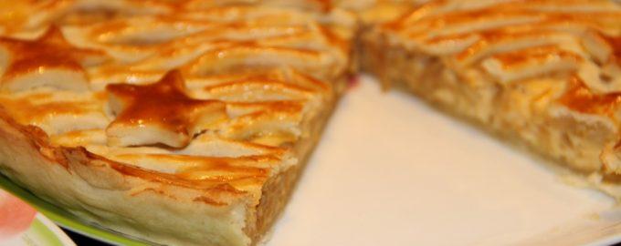 Пирог с плавленым сыром и луком - начинка обалденная
