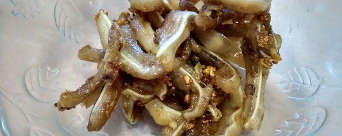 «Хрустики» - закуска из свиного уха. Давно уехала из деревни, но до сих пор готовлю для себя и семьи это блюдо