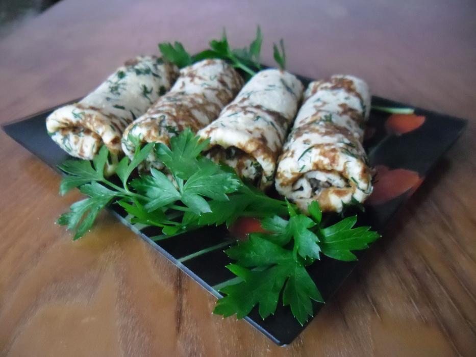 Сырные блины с укропом — отличная идея для завтрака, обеда или ужина