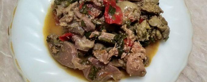 Люблю готовить «Армянский тжвжик». Блюдо очень интересное и вкусное, а в составе простые субпродукты