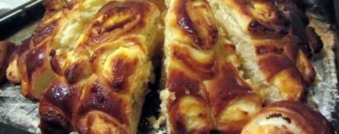 Любимый пирог «Георгин». Готовить несложно, но придать нужную форму – настоящее искусство