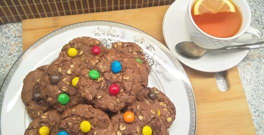 Американское печенье из нашего геркулеса