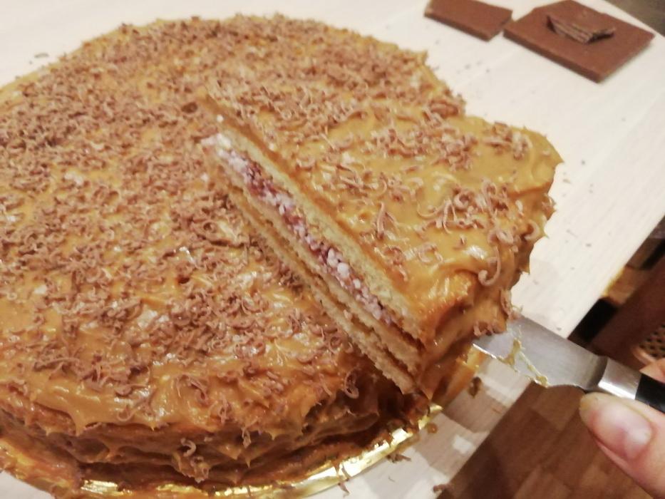 Рецепт торта «Лапушка»