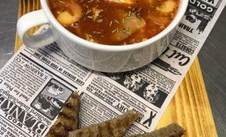 Научилась готовить «Баварский суп» - Ну очень вкусно. Блюдо густое, в меру островатое. Подойдет на замену целого обеда
