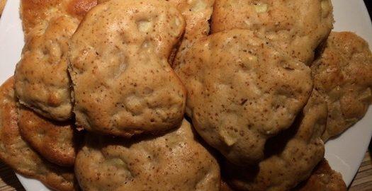 Медовое печенье с яблоками