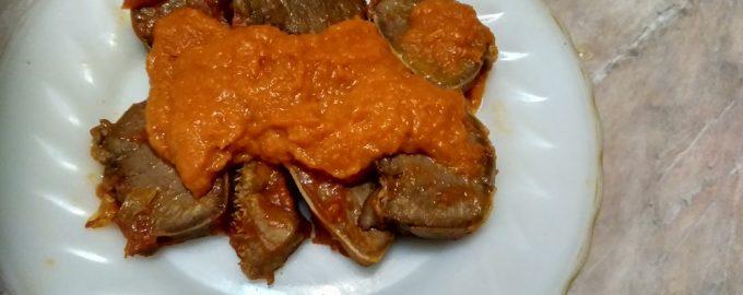 «Австралийский язык» - простая закуска из наших доступных ингредиентов