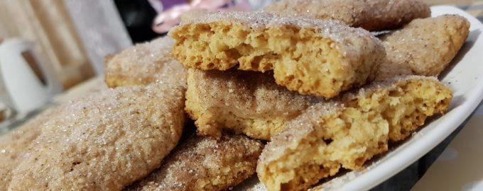 Как я готовлю своё «дежурное» сахарное печенье буквально за 20 минут
