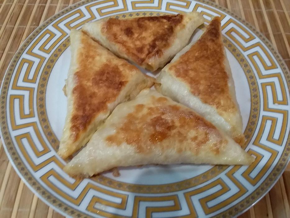 Горячие бутерброды в лаваше