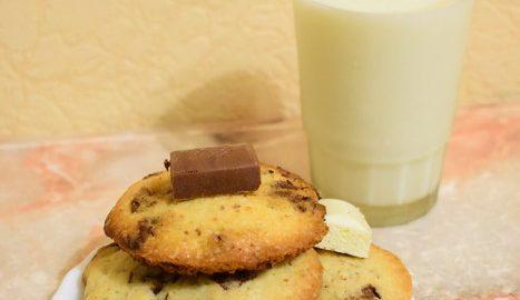 Рецепт божественного печенья с шоколадом
