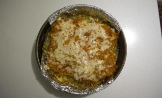 Филе ТРЕСКИ с овощами под сыром на картошке
