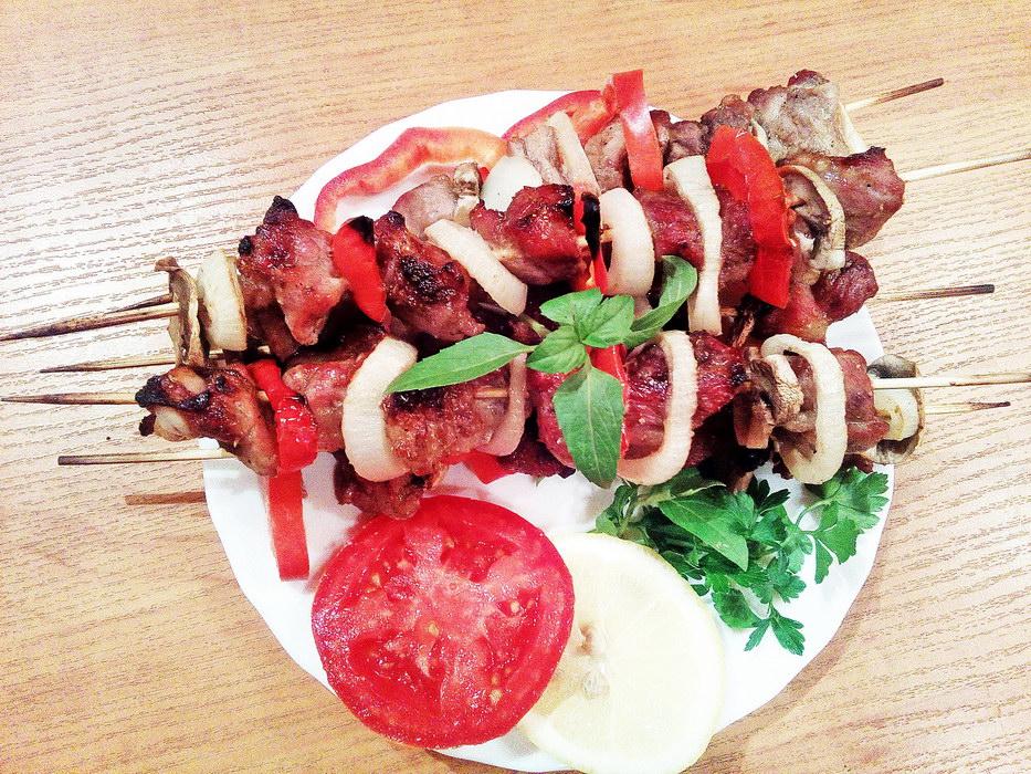 Мясо «как шашлык» в духовке