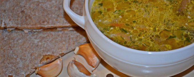 Быстрый СУП с грибами и сырком. Новый вкус на вашем столе.