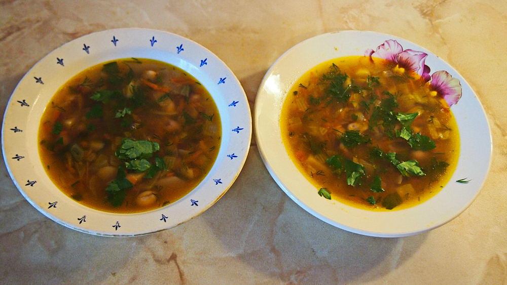 Домашний НАВАРИСТЫЙ фасолевый суп