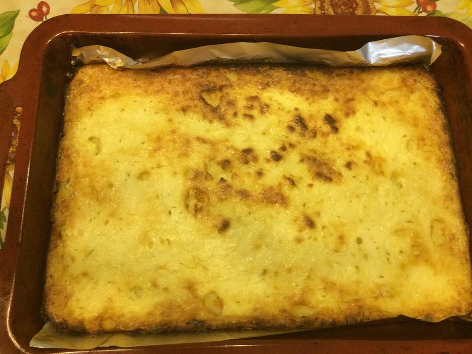 Нежная творожная запеканка, рецепт с детсадовской кухни