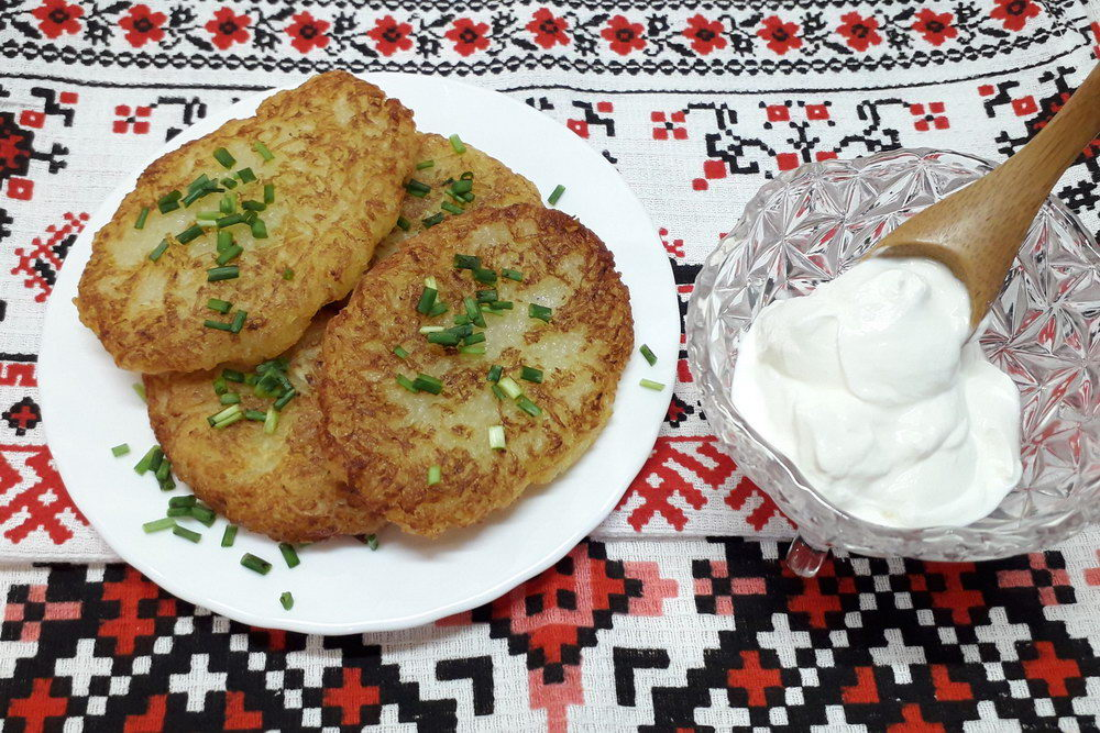 Рецепт настоящих белорусских ДРАНИКОВ (без муки и яиц)